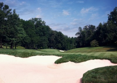 Hunting Creek Hole 13 Fairway Bunker After Smart Photo