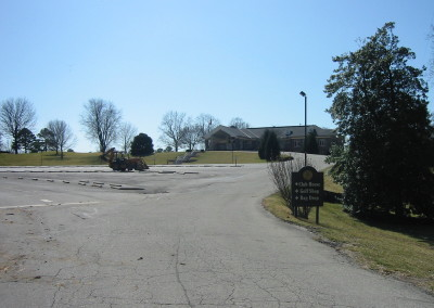 Standard Country Club, Parking Lot Entrance Before Improvements