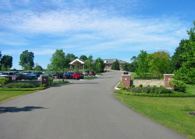 Standard Country Club, Entrance After Improvements