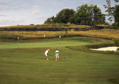 University of Louisville Golf Club, Short Game Practice Area for Members